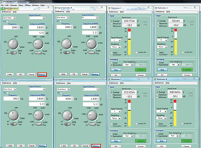 Multiple Virtual Instruments