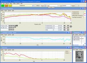 headphone test screenshot